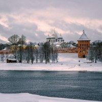 зима в холодных тонах :: Евгений Никифоров