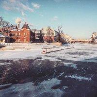 Яхт клуб на москве реке :: AristovArt