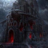 Мрачный готический замок :: Александр Тарасенко