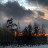 Зимний закат :: ВАЛЕРИЙ