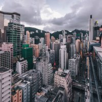 Rooftop in Hong - Kong :: Георгий Ланчевский