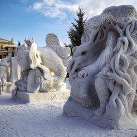 Снежные , ледяные композиции . :: Viacheslav Birukov