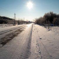 По зимней по дороге.. :: Андрей Заломленков