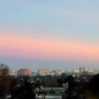 Здравствуй морозное розовое утро :: ВАЛЕРИЙ