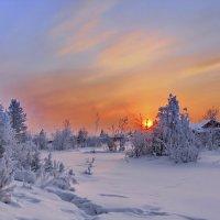 вечернее марево января :: Александр