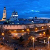 Панорама ночной Астрахани :: Алена Рыжова