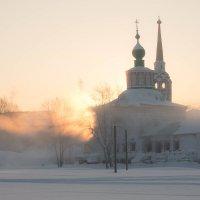 Морозное утро в Соликамске... :: Sergey Apinis