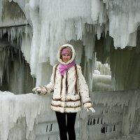 В ледяной сказке. (Пирс в Зеленоградске) :: Elena N