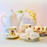 Зефир и кофейные чашки :: Наталия Лыкова