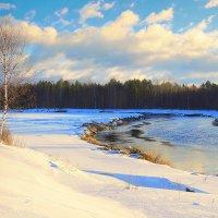 Морозный, зимний день.Тверца :: Павлова Татьяна Павлова