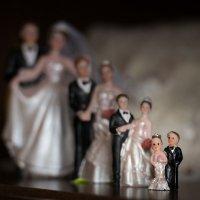 """Статуэтки """"жених и невеста"""" :: Олеся Загорулько"""