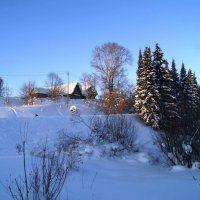 зимой в деревне :: Алексей Логинов