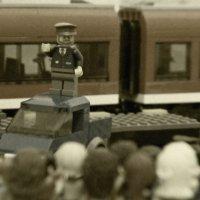 Митинг тов. Ленина на Финляндском вокзале :: сергей крючков