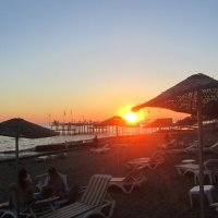 сентябрь,закат,Турция :: tgtyjdrf