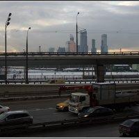 Москва сити :: Михаил Розенберг