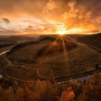 Осенний закат :: Александр Чазов