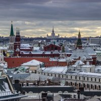 На Москвою :: Elena Ignatova