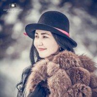 зимняя портрет :: Hурсултан Ибраимов фотограф