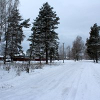 Деревенская улица зимой :: Катя Бокова