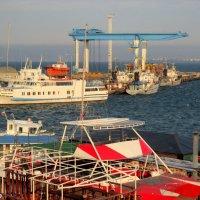 В нашу гавань заходили корабли... :: Нина Бутко