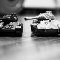 На поле танки грохотали... :: Сергей Федоткин