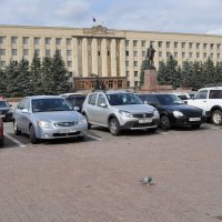 площадь Ленина и дом правительсва :: Владимир