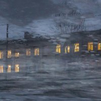 Дом во льдах. :: Евгений К