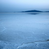 Солёное озеро Ассале :: Евгений Печенин