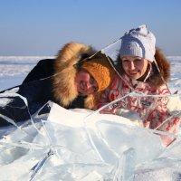 Прозрачный лёд на Байкале :: MarinaZi .