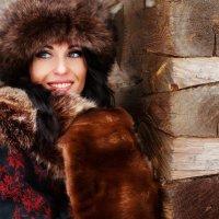 Русская зима :: Анастасия Позднякова