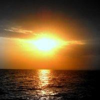 Черное море.Закат Сверхновая. :: Ivan G