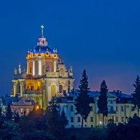 Львов, собор Св. Юра, поздний режим :: Виталий Авакян