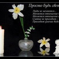 Просто будь СВЕТОМ.......... :: Павлова Татьяна Павлова
