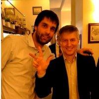 С баскетболистом Милошем Деодосичем :: Аlexandr Guru-Zhurzh