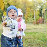 Дима и Васелина на прогулке :: Анастасия Рогозина