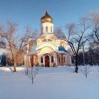 Новый Храм на Партизанской :: Александр Алексеев