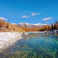Сибирские реки. Река Иркут :: Анатолий Иргл