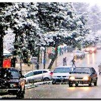 то ли снег, то ли дождь. :: Ivana