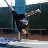 Настя гимнастка :: Николай Иванович Щенов