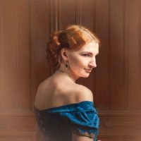 Дама с рыжими волосами :: Олег Дроздов