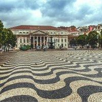 Площадь Россио в Лиссабоне :: Ирина Лепнёва