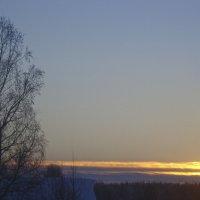 Закат в феврале :: Р о м a н