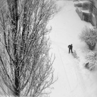 Зима из окна - закружилась голова!:) :: Валентина Данилова