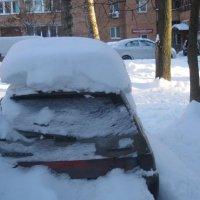 Под зимней крышей :: Елена Семигина