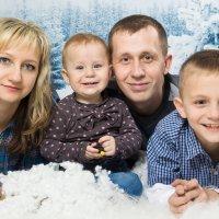 семейная зимняя фотосессия :: Екатерина Гриб