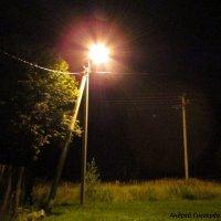 Деревенская ночь :: Андрей Снегерёв