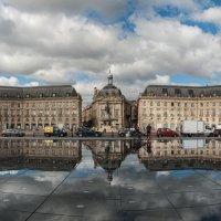 Бордо. Площадь Бурс. Панорама. :: Надежда Лаптева