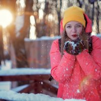 Зимний портрет :: Дарья Аристова