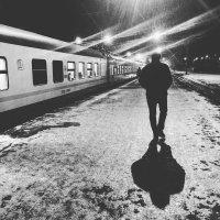 Ночной поезд :: melnikofff Мельников