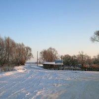Январь в деревне :: Сергей Михайлович